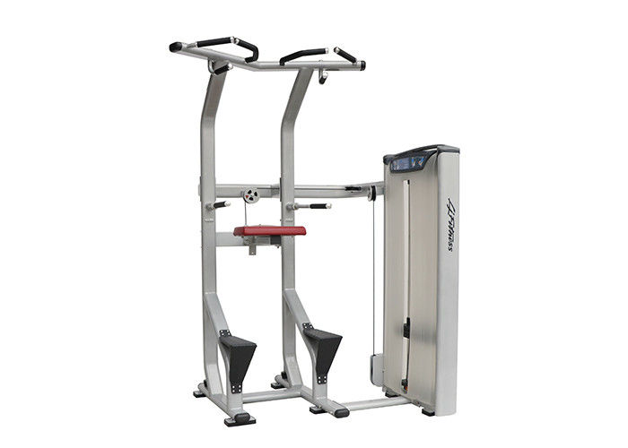 Assisted Dip Chin Strength Training Machine , Professional Matrix Bodybuilding Equipment